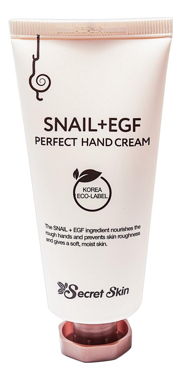 Купить Крем для рук с муцином улитки Snail + EGF Perfect Hand Cream 50г, Secret Skin
