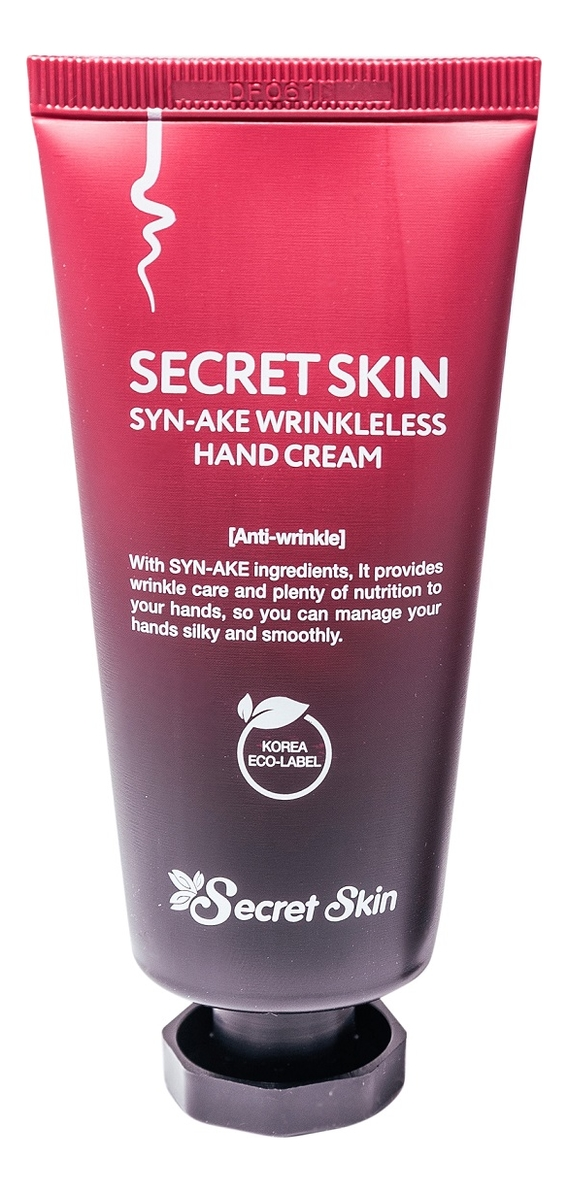 Купить Крем для рук с пептидом змеиного яда Syn-Ake Wrinkleless Hand Cream 50мл, Secret Skin