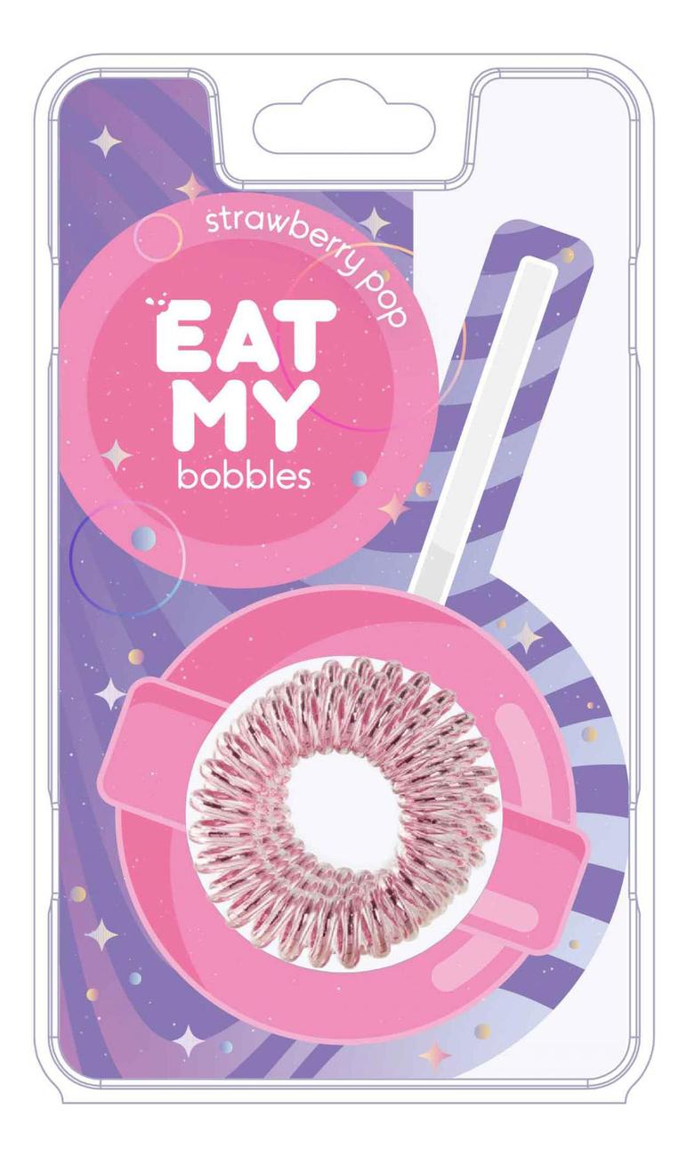 Резинка для волос Strawberry Pop 3шт (розовая) резинка для волос black chocolate 3шт черная