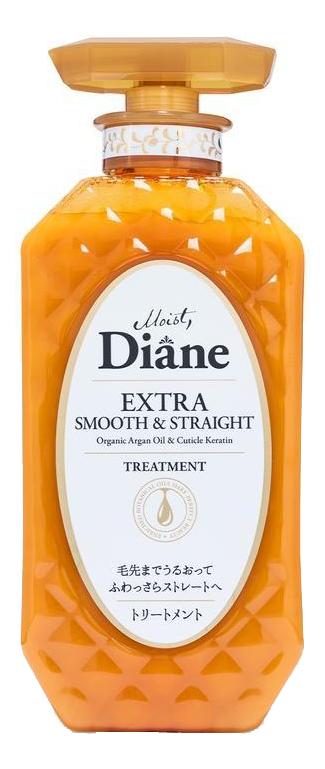 Купить Кератиновая бальзам-маска для волос Гладкость Perfect Beauty Extra Smooth & Straight Treatment 450мл, Кератиновая бальзам-маска для волос Гладкость Perfect Beauty Extra Smooth & Straight Treatment 450мл, Moist Diane