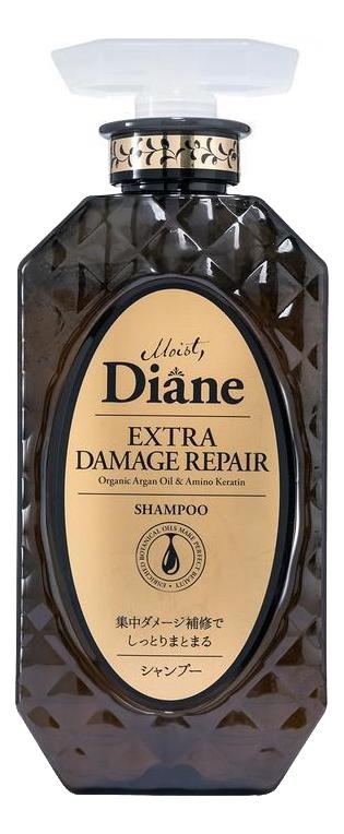Купить Кератиновый шампунь для волос Восстановление Perfect Beauty Extra Damage Repair Shampoo 450мл, Moist Diane