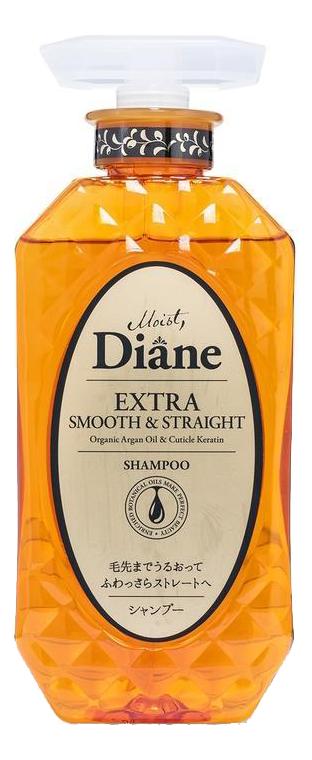 Купить Кератиновый шампунь для волос Гладкость Perfect Beauty Extra Smooth & Straight Shampoo 450мл, Кератиновый шампунь для волос Гладкость Perfect Beauty Extra Smooth & Straight Shampoo 450мл, Moist Diane