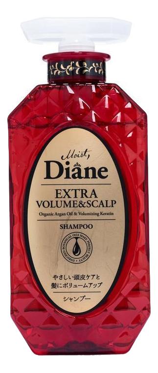 Купить Кератиновый шампунь для волос Объем Perfect Beauty Extra Volume & Scalp Shampoo 450мл, Кератиновый шампунь для волос Объем Perfect Beauty Extra Volume & Scalp Shampoo 450мл, Moist Diane