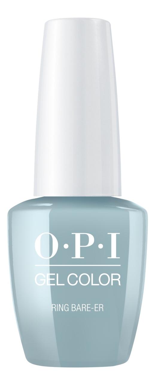 Фото - Гель-лак для ногтей Gel Color 15мл: Ring Bare-er закрепляющее покрытие гель для ногтей супер блеск super gloss gel 15мл