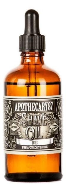 Купить Масло для бритья Shave Oil 1893 50мл (с ароматом): Масло 50мл, Масло для бритья Shave Oil 1893 (с ароматом), Apothecary 87
