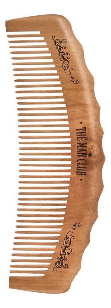 Купить Расческа для бороды и усов деревянная The Man Club Barber Comb, Apothecary 87
