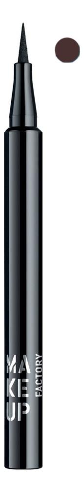Купить Жидкая подводка для глаз Full Precision Liquid Liner 1мл: 06 Коричневый, MAKE UP FACTORY