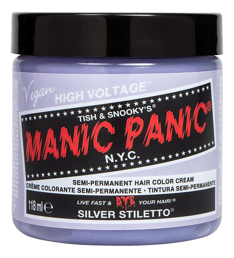 Краска для волос High Voltage 118мл: Silver Stiletto