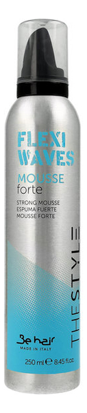 Купить Мусс для фиксации локонов Flexi Waves Strong Mousse 250мл, Be Hair