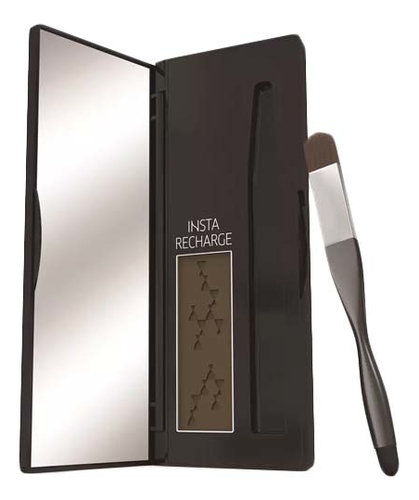 Консилер-пудра для временного подкрашивания волос Insta Recharge Root Concealer Precise Color Powder 2,1г: Коричневый