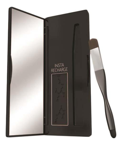 Консилер-пудра для временного подкрашивания волос Insta Recharge Root Concealer Precise Color Powder 2,1г: Черный