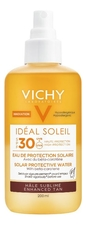 Vichy Двухвазный солнцезащитный спрей с антиоксидантами Capital Ideal Soleil Solar Protective Water SPF30 200мл