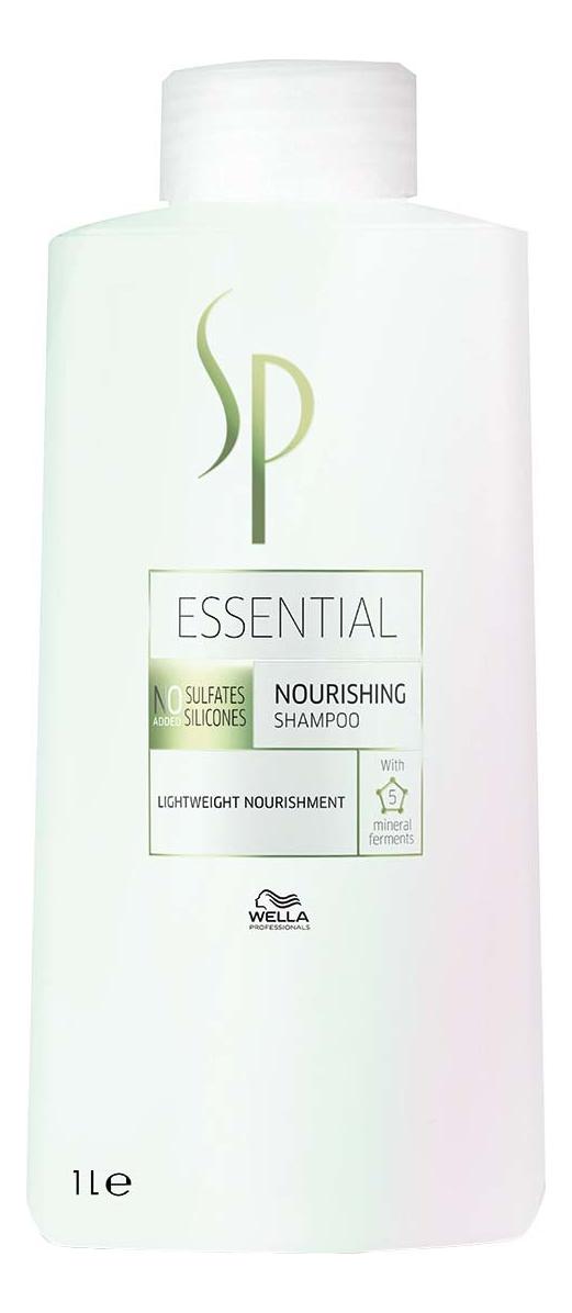 цена на Питательный шампунь для волос SP Essential Nourishing Shampoo: Шампунь 1000мл