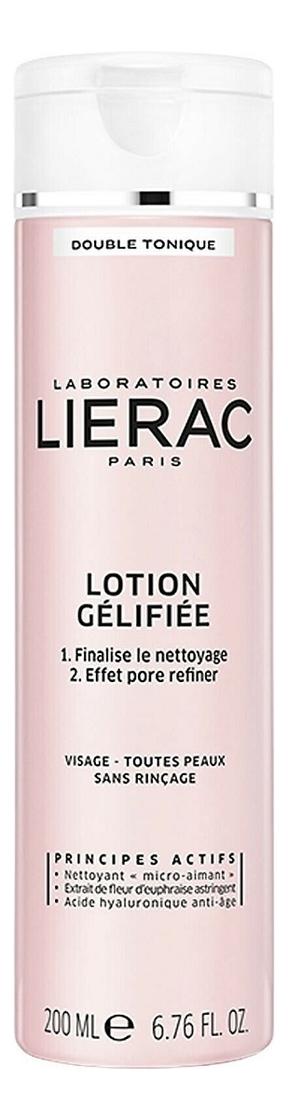 Двойной тонизирующий гель-лосьон для очищения кожи лица Double Tonique Lotion Gelifiee 200мл недорого