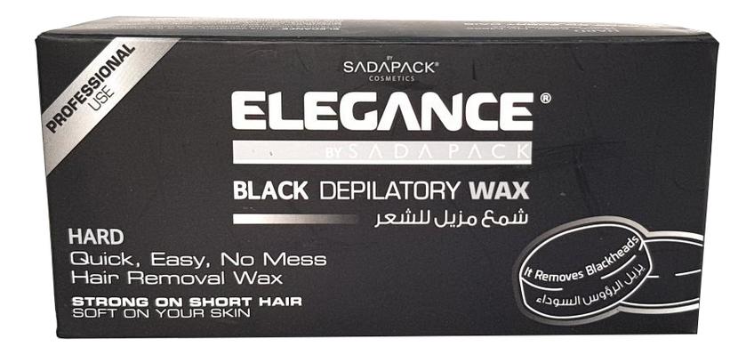 Черный гранулированный воск для депиляции Black Depilatory Wax 300г