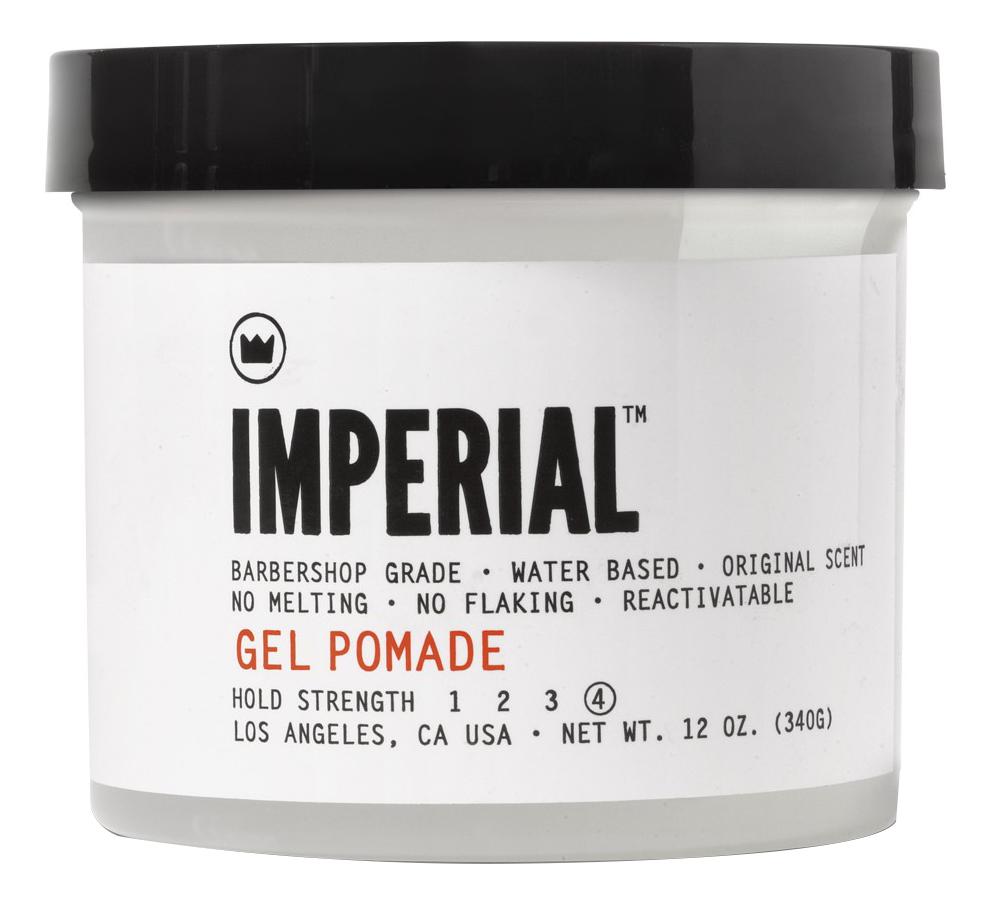 Купить Гель-помада для укладки волос Gel Pomade Hold Strength: Гель-помада 340г, Imperial Barber
