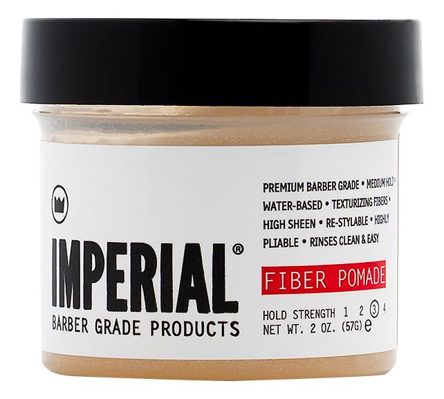 Текстурирующая помада для укладки волос Fiber Pomade Hold Strength: Помада 57г