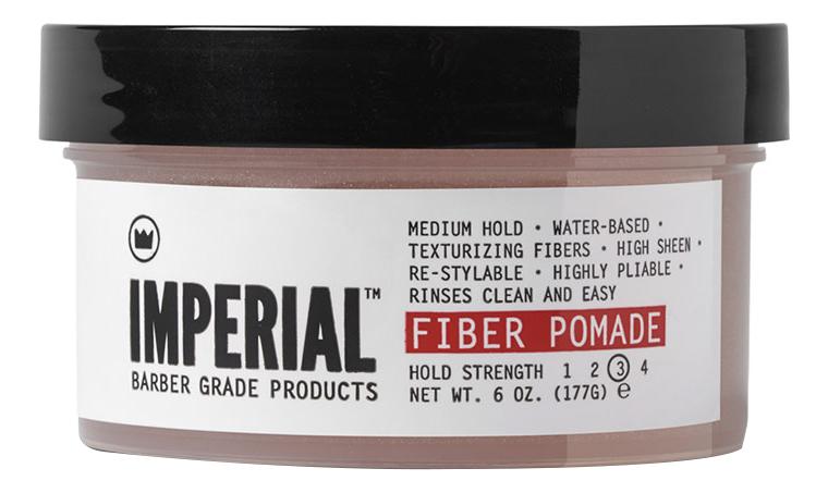 Текстурирующая помада для укладки волос Fiber Pomade Hold Strength: Помада 177г