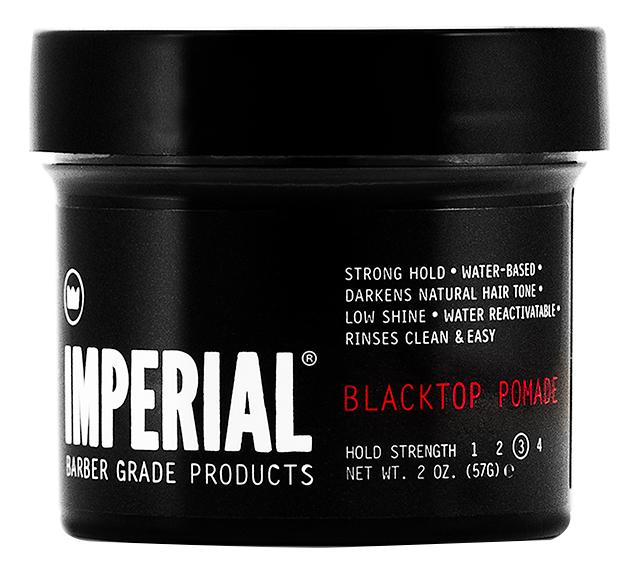 Купить Черная помада для укладки волос Blacktop Pomade: Помада 57г, Imperial Barber