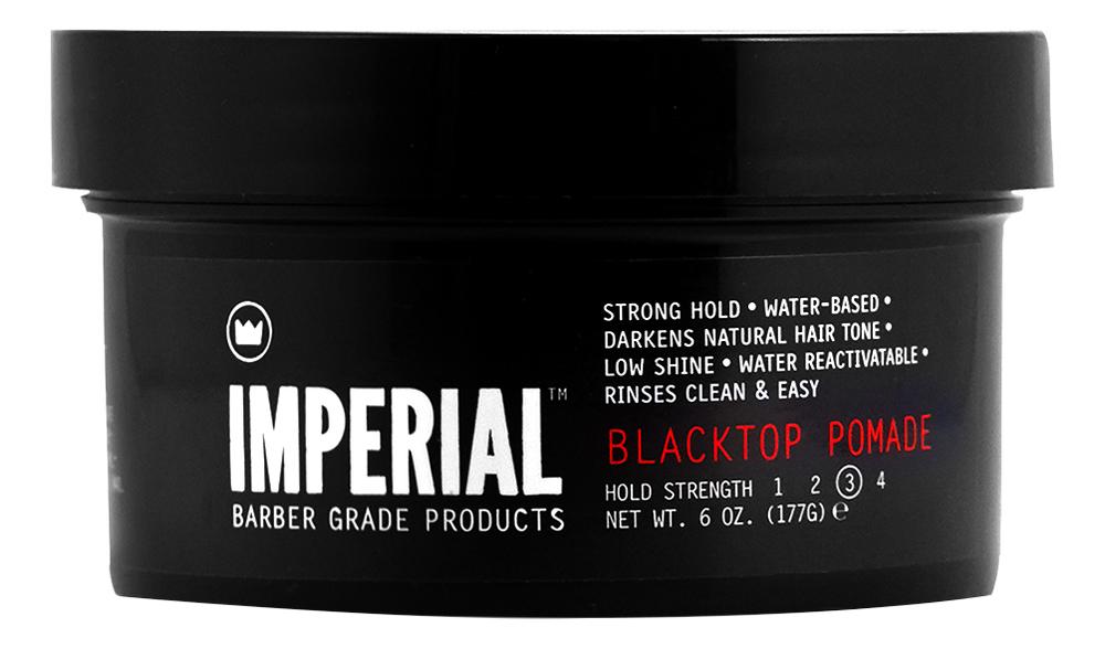 Купить Черная помада для укладки волос Blacktop Pomade: Помада 177г, Imperial Barber