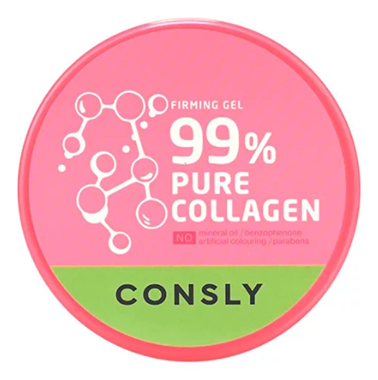 Фото - Многофункциональный гель для лица и тела с гидролизованным коллагеном Pure Collagen Firming Gel 300мл гель маникюр для волос haken premium pearll pure gel color crystal clear 220 г