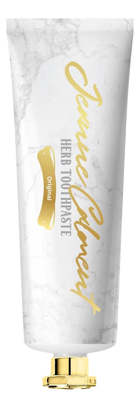 Зубная паста для свежести полости рта Оригинальная Jeanne Calment Herb Toothpaste Original 80г
