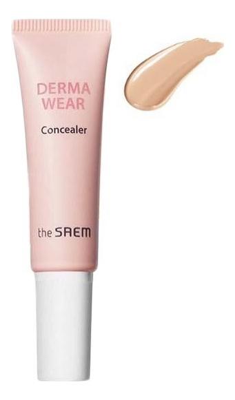 Купить Консилер для лица Derma Wear Concealer SPF30 PA++ 10г: 01 Light Beige, The Saem