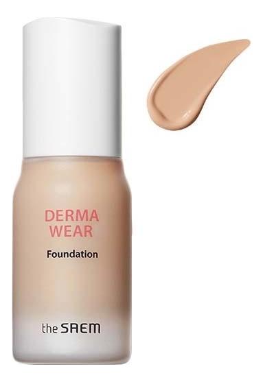 Тональная основа для лица Derma Wear Foundation SPF47 PA++ 30мл: 02 Natural Beige недорого