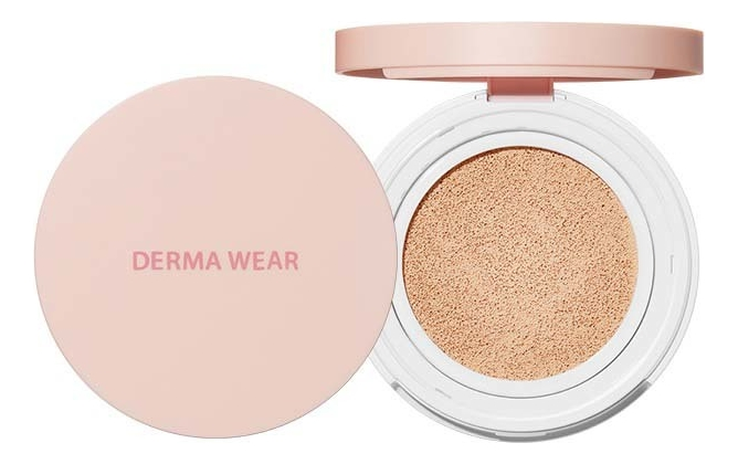 Кушон для лица Derma Wear Cushion SPF35 PA++ 15г: 01 Light Beige недорого