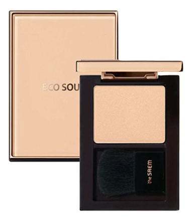 Хайлайтер для лица Eco Soul Luxe Highlighter 6г: WH01 Gloria кремовый хайлайтер для лица peko jjang melti jelly highlighter 6г no 01