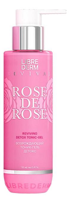 Возрождающий тоник-гель детокс Rose De Rose Reviving Detox Tonic-Gel 150мл фото