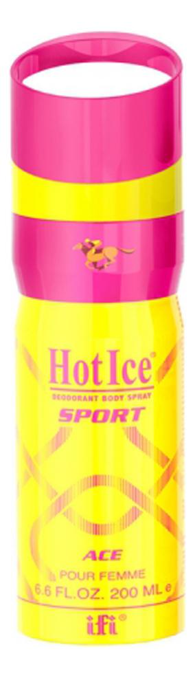 Фото - Парфюмерный дезодорант-спрей Sport Ace Pour Femme 200мл парфюмерный дезодорант спрей sport clash 200мл