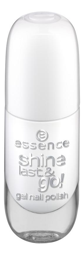 Купить Лак для ногтей Shine Last & Go! 8мл: 33 Wild White Ways, Лак для ногтей Shine Last & Go! 8мл, essence