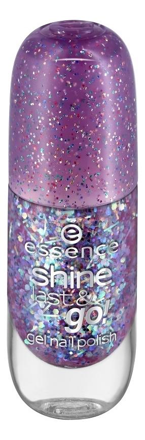 Купить Лак для ногтей Shine Last & Go! 8мл: 23 Party Time, Лак для ногтей Shine Last & Go! 8мл, essence