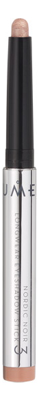 Стойкие тени-карандаш Nordic Luxe Noir Longwear Eyeshadow Stick 1,6г: No 3
