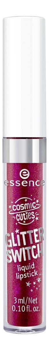 Жидкая помада для губ Cosmic Cuties Glitter 3мл: 03 Sparkling Bordeaux