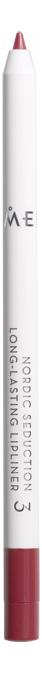 цена на Устойчивый карандаш для губ Nordic Seduction Longlasting Lipliner 0,5г: No 3