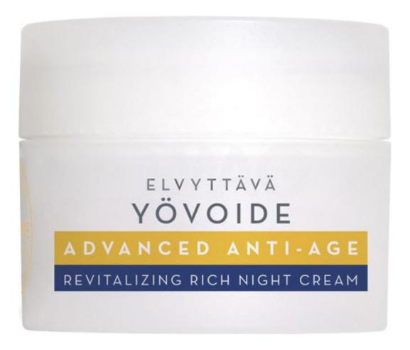 Антивозрастной ночной крем для лица Klassikko Advanced Anti-Age Revitalizing Rich Night Cream 50мл