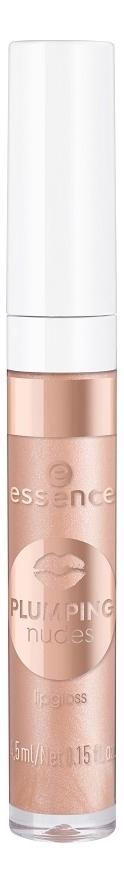 Купить Блеск для губ Plumping Nudes Lipgloss 4, 5мл: 01 XXL Charm, essence