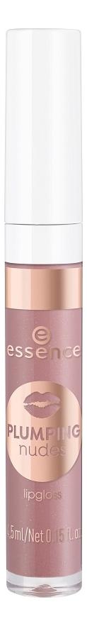 Купить Блеск для губ Plumping Nudes Lipgloss 4, 5мл: 03 She's So Extra, essence