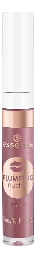 Купить Блеск для губ Plumping Nudes Lipgloss 4, 5мл: 06 Big Bang, essence