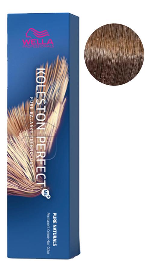Фото - Стойкая крем-краска для волос Koleston Perfect Color Pure Naturals 60мл: 7/01 Фундук стойкая крем краска для волос koleston perfect color pure naturals 60мл 8 04 яркий закат