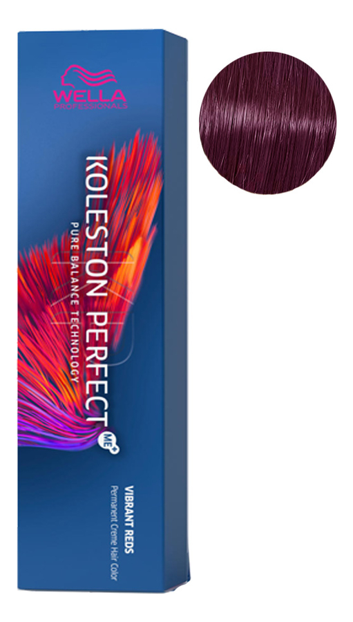 Фото - Стойкая крем-краска для волос Koleston Perfect Color Vibrant Reds 60мл: 33/66 Королева ночи стойкая крем краска для волос koleston perfect color vibrant reds 60мл 77 46 пурпурная муза