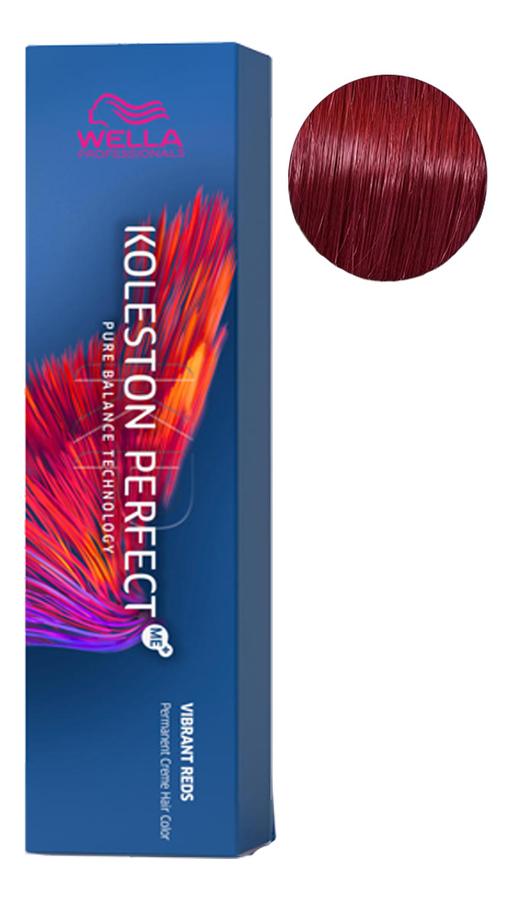 Фото - Стойкая крем-краска для волос Koleston Perfect Color Vibrant Reds 60мл: 66/56 Пряная сангрия стойкая крем краска для волос koleston perfect color vibrant reds 60мл 77 46 пурпурная муза
