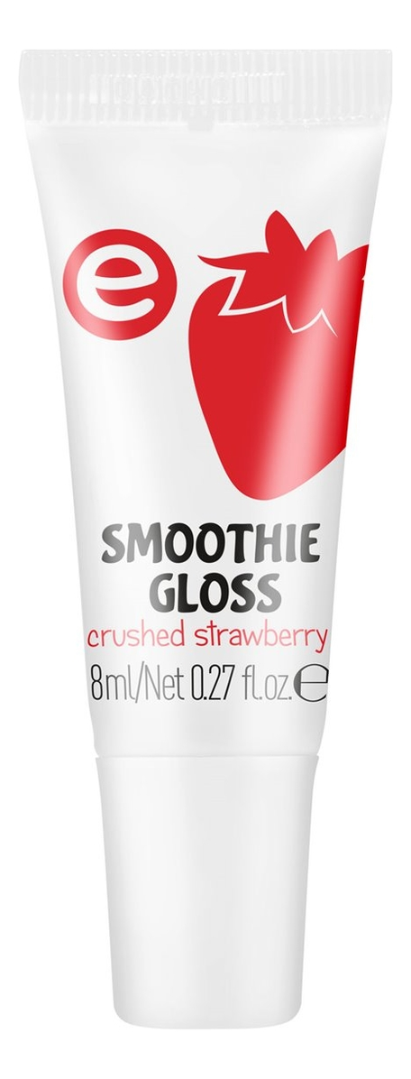 Увлажняющий блеск для губ Smoothie Gloss 8мл: 04 Crushed Strawberry фото