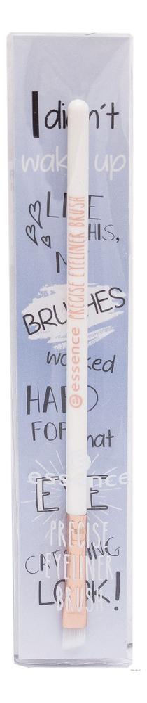 Фото - Кисть для гелевой подводки Precise Eyeliner Brush трафарет для нанесения подводки eyeliner designer