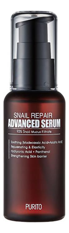 Купить Восстанавливающая сыворотка для лица Snail Repair Advanced Serum 60мл, PURITO