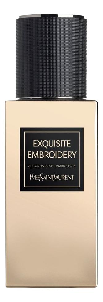 Фото - YSL Exquisite Embroidery: парфюмерная вода 125мл тестер ysl exquisite musk парфюмерная вода 80мл