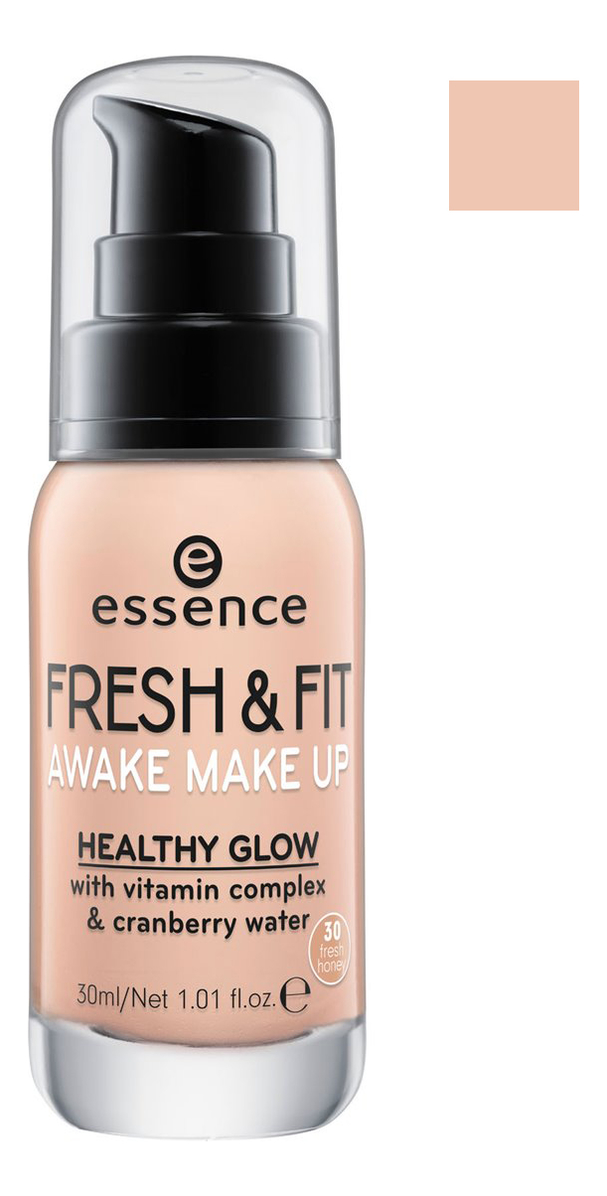 Тональная основа Fresh & Fit Awake Make Up 30мл: 30 Gresh Honey essence fresh