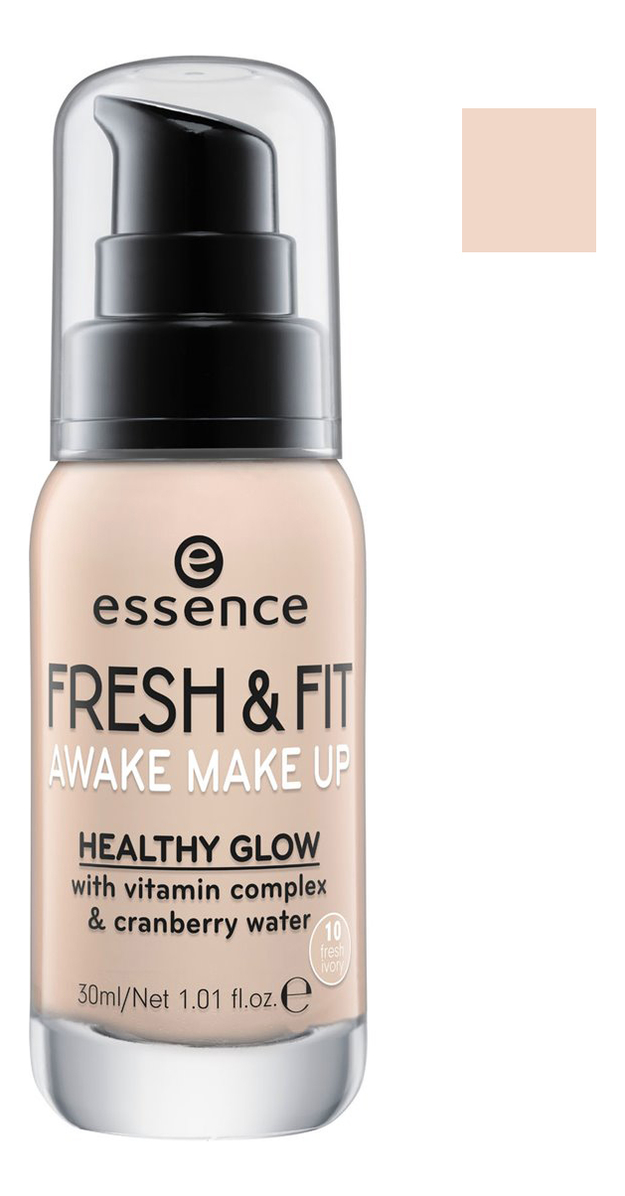 Тональная основа Fresh & Fit Awake Make Up 30мл: 10 Fresh Ivory essence fresh